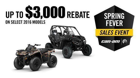 Can-Am Spring Fever Sales Event Defender Promotion