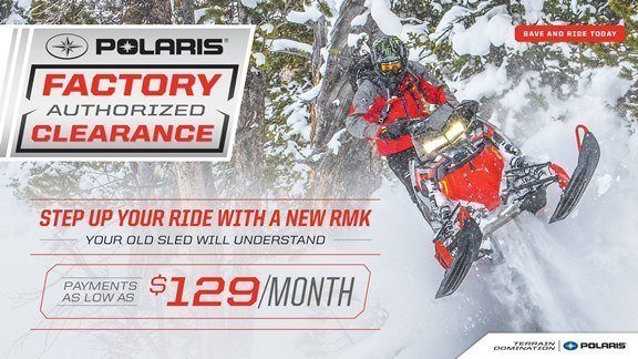Polaris Snowmobiles Factory Authorized Clearance
